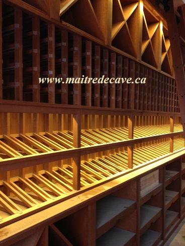 Caves a vins pour caviste par Martin Ayotte, Maitre de cave